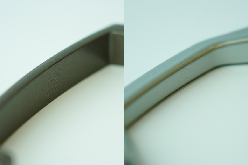 ダイカスト製の取っ手(材質変更によるコストダウン事例)